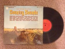 20 Great Hits - Country Sounds - As Seen on TV - 33 RPM Vinyl LP Record - Rare