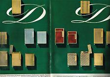 PUBLICITE ADVERTISING 064  1965  DUPONT  briquets bijoux de qualité ( 2 pages)