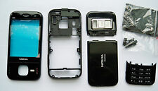 Black Housing Cover Facia Fascia Faceplate case for nokia N85