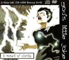 GOD'S LITTLE JOKE - A MOMENT OF CLARITY - CD & DVD ALBUM