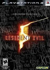Resident Evil 5 -- Collector's Edition (Sony PlayStation 3, 2009)