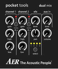 AER Pocket Tools DUAL-MIX-2 (2-Channel Preamp Mixer)