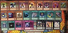 YuGiOh Superheavy Samurai Deck **TOURNAMENT READY** Comes with Extra Deck!