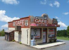 N Scale Route 66 Series: Desert Cafe Kit for Model Railroad Hobby (126)