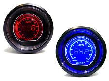 Digital 52mm universal turbo boost gauge 35 psi bleu rouge volvo turbo moteurs