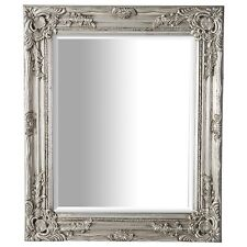 Silver Ornate Baroque Antique Shabby Chic Style Wall Mirror NEW Hall Bedroom