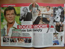 ROGER MOORE / James Bond 007 in Polish Magazine KROPKA TV 29/2015