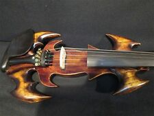 New model crazy Song art streamline 5string 4/4 electric violin,solid wood