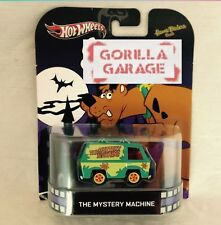 Hot Wheels Scooby-doo The Mystery Machine Retro Entertainment Real Riders
