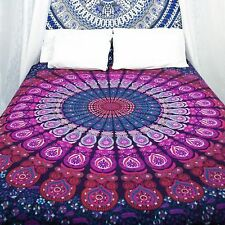 Indian hippie tapestries mandala Wall Hanging Hippie bohemian Ethnic Throw-UK