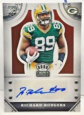 Richard Rodgers 2014 Panini Crown Royale BRONZE RC Autograph Auto /99 - PACKERS