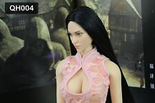 """1/6 Scale Sexy Female Head Model Fit 12"""" Woman Girl Body Toy QH004"""
