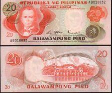 Filipinas 20 piso, 1970, P150 como nuevo UNC