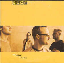 BLOF - Hier / Duister 2TR CDS 2000 POP ROCK / DUTCH