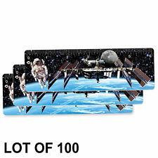"Ruler Bookmark Astronaut Space Station Lenticular 6"" Lot of 100 #RU06-405-100#"
