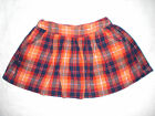 Justice Junior Teen Girls Size 10 Multicolored Skirt 99% Cotton Used Conditions