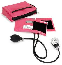 BP Cuff Passion Pink Case Adult Sphygmomanometer Aneroid Latex Free S882
