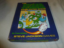 THE AWFUL GREEN THINGS FROM OUTER SPACE BOARD GAME VINTAGE 1990 STEVE JACKSON >>