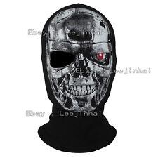 one-eyed  The Terminator T800 skull mask Cosplay cotton Rib fabrics Balaclava