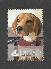 Dog Photo Head Study Portrait Postage Stamp Champion Show BEAGLE Australia MNH