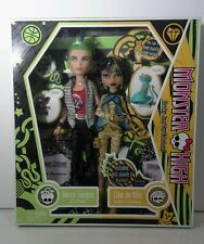 Monster High Cleo De Nile and Deuce Gorgon Doll Gift Set Free Ship U.S. NEW
