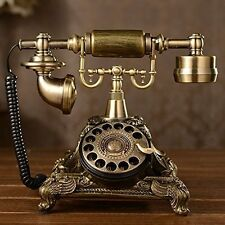 Corded Telephones Vintage Retro Old Fashioned Desk Table Phone Home Decoration