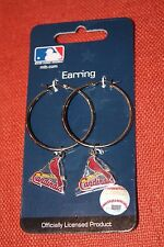 St. Louis CARDINALS Hoopla EARRINGS licensed by MLB NEW NWT 30% Off!