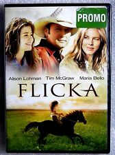 Like New GIFT Ready Flicka 2006 WS FF DVD TIM McGRAW MARIA BELLO ALISON LOHMAN