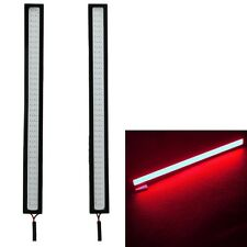 2x 17cm Bright Red LED COB Car Auto DRL Driving Daytime Running Lamp Fog Light
