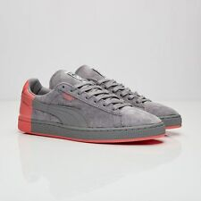 "PUMA Suede x Staple 361617-03 Gray/Pink ""NYC Pigeon"" men size US 5 NEW Limited"