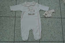 NEW Mamas and Papas Unisex Stork All in One Sleepsuit Personalised Baby Lalli
