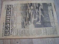 """1µ?  Revue Les Ailes """"Monde Aviation"""" n°1364 Flotille Armagnac Cosandey DC-7"""