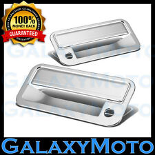 88-98 GMC C1500+C2500+C3500 Triple Chrome Plated 2 Door Handle+PSG Keyhole Cover