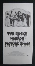 THE ROCKY HORROR PICTURE SHOW Original Australian daybill movie poster Tim Curry