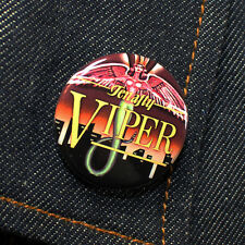 Tenafly Viper Logo | Street Trash 1 1/4 Inch button Horror Splatter Flick