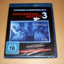 Blu Ray - Paranormal Activity 3 - Extended Director's Cut & Kinoversion Neu OVP