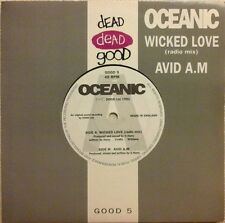"OCEANIC - WICKED LOVE (RADIO MIX) 7"" VINYL SINGLE 1990s DANCE NM/NM"