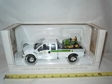 John Deere BTL Ford F-250 Pickup With X534 Lawn Mower  By SpecCast 1/25th Scale