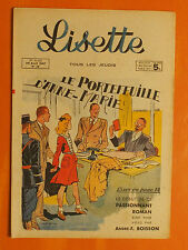 LISETTE N° 16 du 20/04/1947. 27 ème Année. éditions Montsouris