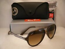Ray Ban 4235 Matte Havana w Brown Gradient Lens NEW sunglasses (RB4235 894/85)