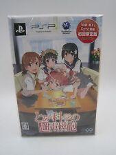 PSP Game Toaru Kagaku no Railgun With Shirai Kuroko Figma Action Figure Japan