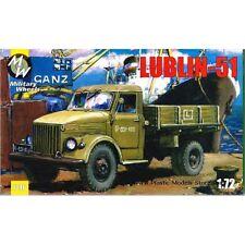 LUBLIN-51 POLISH TRUCK GAZ-51 COPY WWII 1/72 MILITARY WHEELS 7216