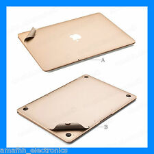 "New PREMIUM Mac Guard FULL Skin Protector for Apple Macbook Pro 13.3"" - Gold"