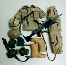Military Uniform Weapons Accessories for 1/6 Scale Action Figure GI Joe Lot #259