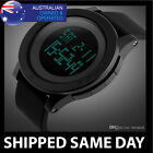 WATERPROOF DIGITAL SPORTS MILITARY WATCH Army Gold Mens Fashion Water Resistant