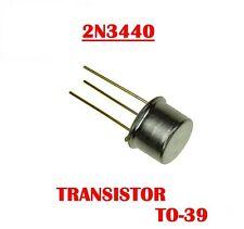 ST Microelectronics 2N3440 NPN HIGH VOLTAGE TRANSISTORS QTY 10  *** NEW ***