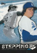 2015 TOPPS SERIES 2 FERNANDO VALENZUELA P DODGERS STEPPING UP #SU-17