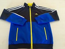 ADIDAS CHILDRENS KIDS JUNIOR TRACKSUIT SZ: UK 7-8Y, US L(7-8), CLIMALITE