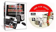 Cancella pulire formato Elimina distruggere Clean Hard Drive dati PC CD DISCO GOMMA CLEANER