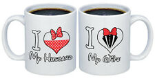 I Love my Wife - Husband Valentines Gifts for Couples Coffee Mugs MCPL112